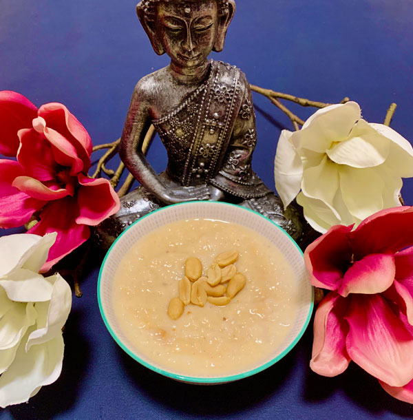 Erdnuss Reis Congee