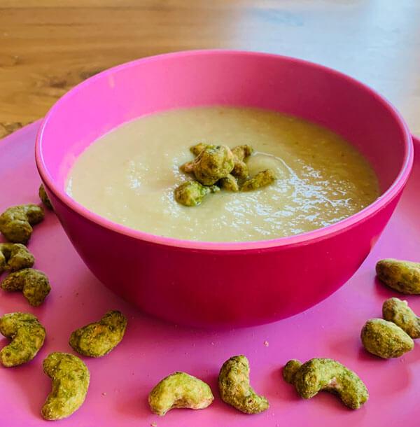 Fenchel Wasabi Cashew Suppe