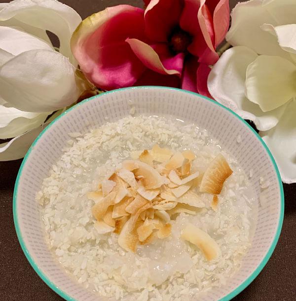 Kokos Reis Congee