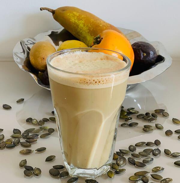 Kürbiskern Cappuccino