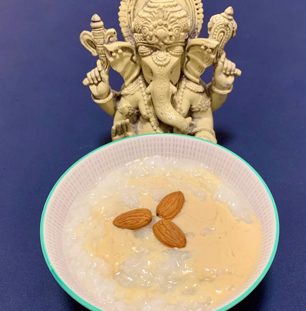 Mandel Reis Congee
