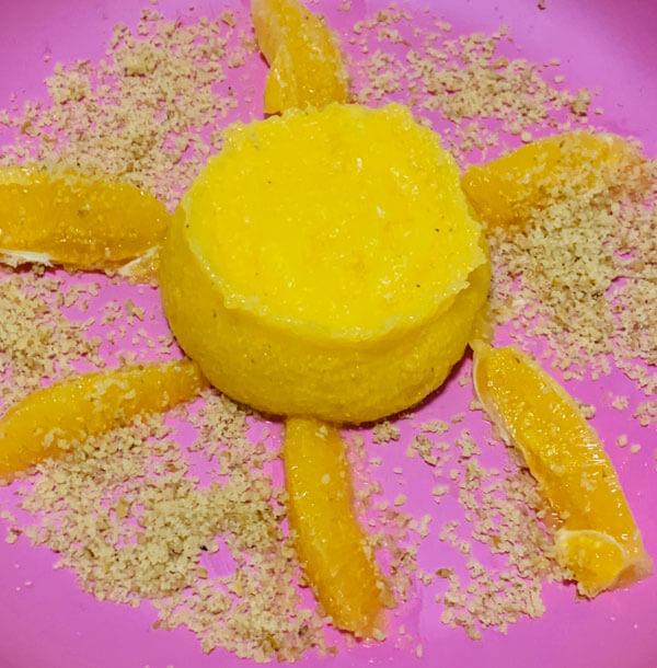Orangen Polenta